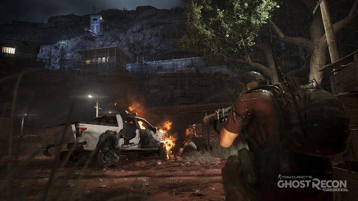 Ghost Recon Wildlands #GhostReconWildlands #shooter #GhostRecon #ubisoft #Games #Videogames #TomClancys