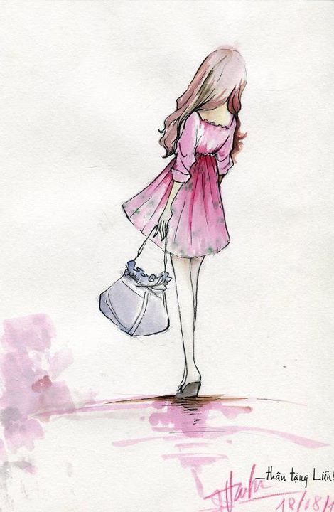 Then she picked up her purse and traveled to Paris.