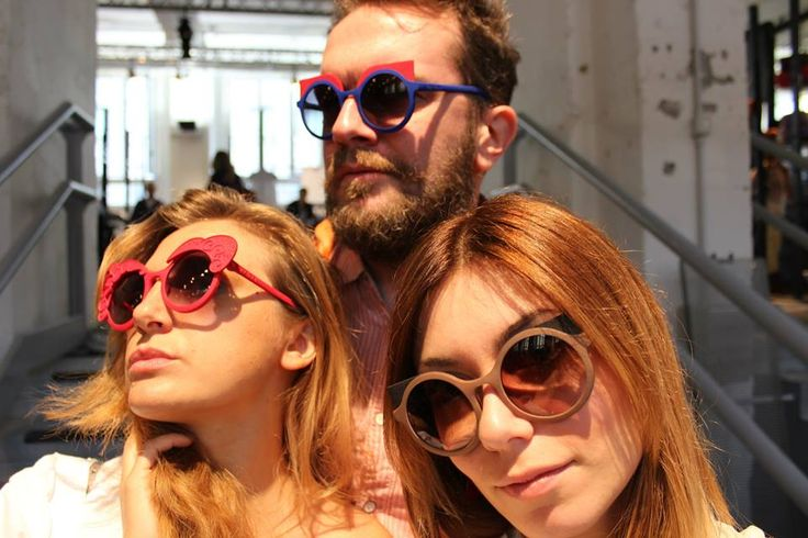 Cambiami Sunglasses by #bijouets made with #3dprintig technology Design by D'Arc Studio