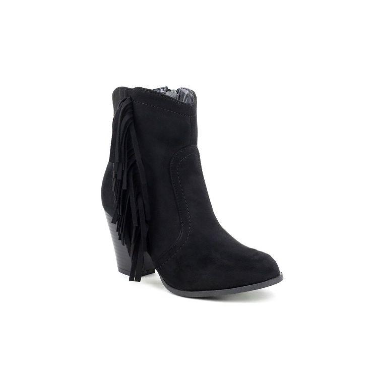 Olivia Miller Hylan Women's Ankle Boots, Teens, Size: 7.5, Black