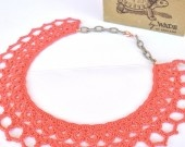 Le Smerlette - lace neckround