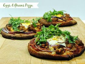 Pizza With A Sunny-Side-Up Egg And Herb Garden Pesto Recipe ...