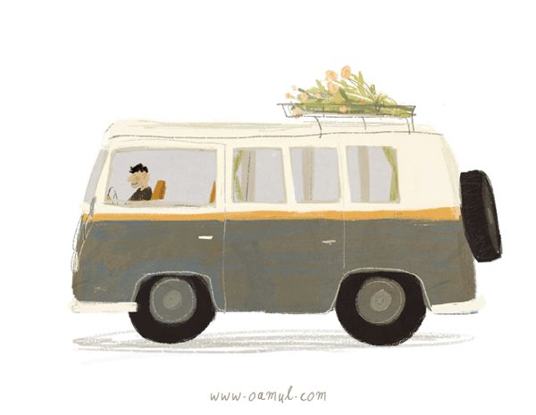 On The Road GIF by Oamul Lu
