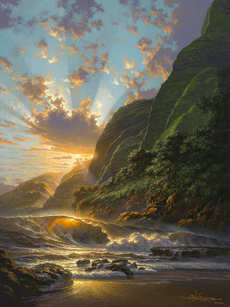 Ted Ziegenbusch ~ Picture Perfect Days Of Aloha   Ted Ziegenbusch