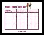 Behavior Charts For Kids Ages Tweens and Teens