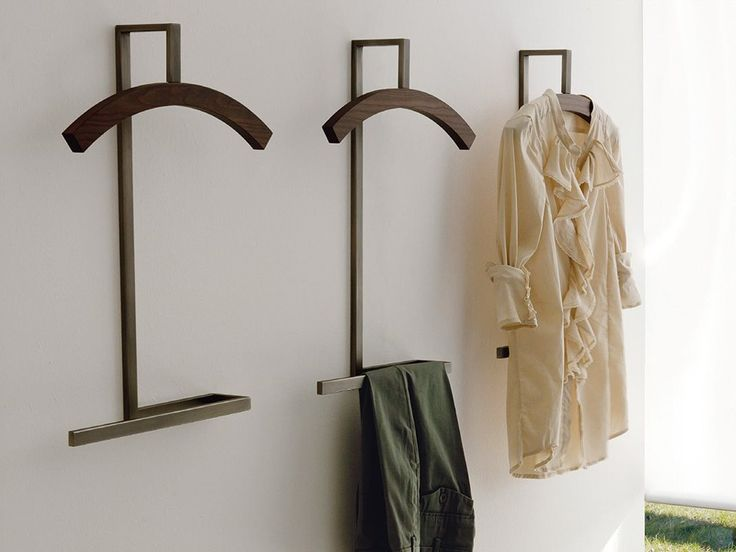Porada Double Wall Mounted Clothes Stand by P. Salvadé - Chaplins