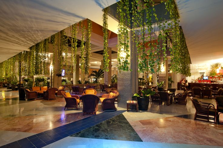 The lobby bar at the Melia Puerto Vallarta.