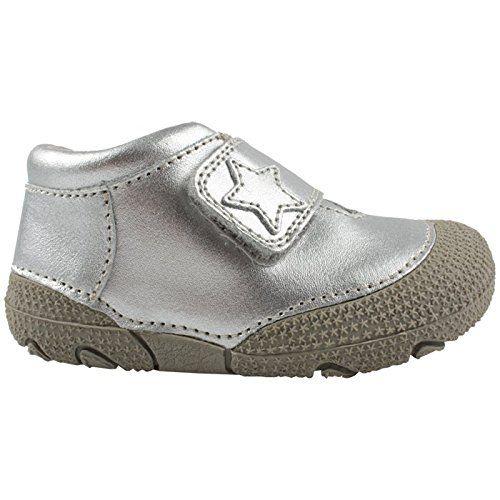EnFant Mädchen Baby- und Kinder Lauflernschuhe, Leder, Silber, Gr. 19, Prewalker Shoe Silver, 815045 01 - http://on-line-kaufen.de/en-fant/19-eu-enfant-prewalker-soft-shoe-unisex-echtleder-2