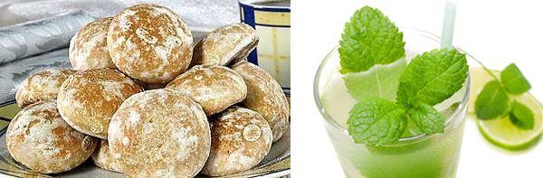 Мятные пряники - рецепт кулинарный