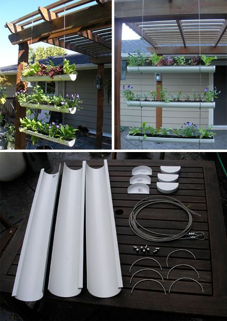 diy for the garden | Urban Green: 8 Ingenious Small-Space Window Garden Ideas…