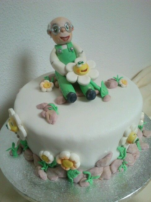 Garden Design Birthday Cake 19 best my cake design images on pinterest | cake designs, cakes