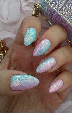 chrome nail polish ideas