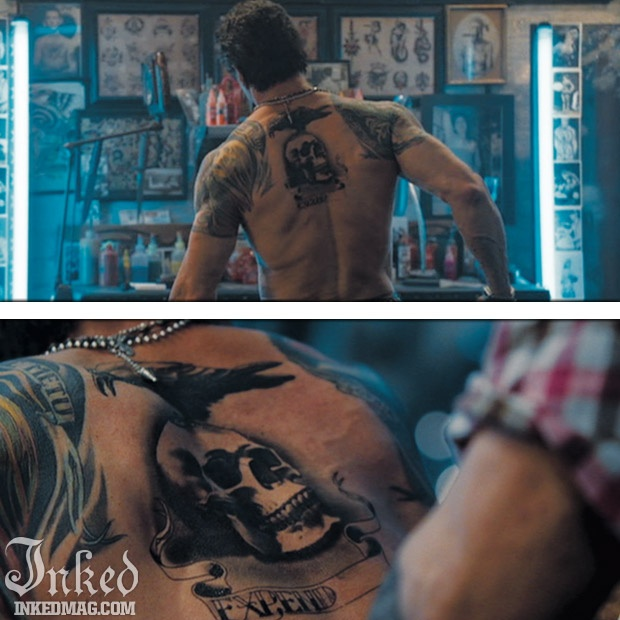 Best tattoos in movies pt3 inked magazine sylvester for Best tattoo magazine