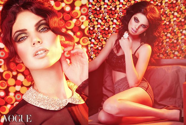 Smokey Glitter Eyes | Featured in VOGUE Italy :) |  Hair & makeup by Amal Aoufoussi |  www.afoussimua.com