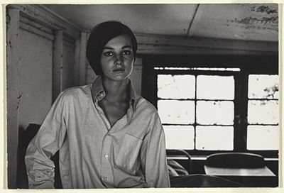 Carol Jerrems, Young Woman in Man's Shirt, Melbourne, Victoria, 1968.