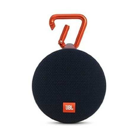 JBL Clip 2 Waterproof Portable Bluetooth Speaker (Black): Home Audio & Theater