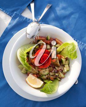 Royalty Free Photo of a Salad