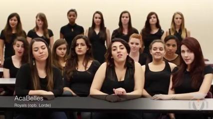 Reprise A Capella de Royals de Lorde par l'université de Floride - Vidéo Dailymotion