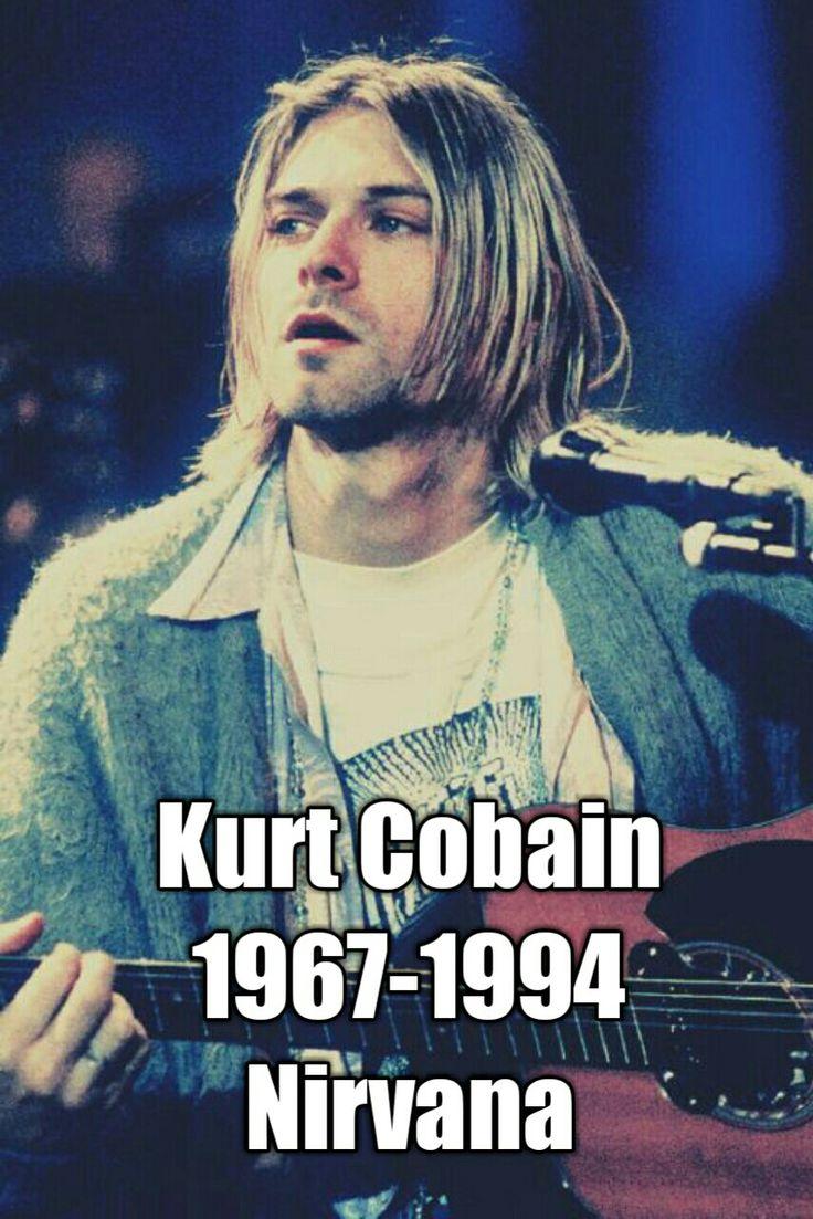Kurt Donald Cobain (February 20, 1967 – c. April 5, 1994) happy birthday legend ho
