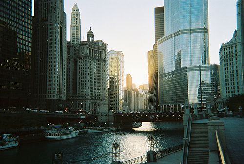 Chicago: Cities To Visit, Big Cities, Illinois, Boats Building, Rivers Crui, Rivers T-Shirt, Inspiration Pictures, Chicago Home, Cities Lights