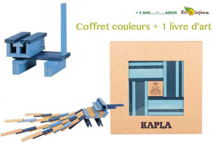 De la couleur et de la vie, avec des kaplas bleus... https://www.ecolojeux.com/jeux-construction-en-bois/349-kapla-coffret-couleur-bleus-et-1-livre-d-art.html