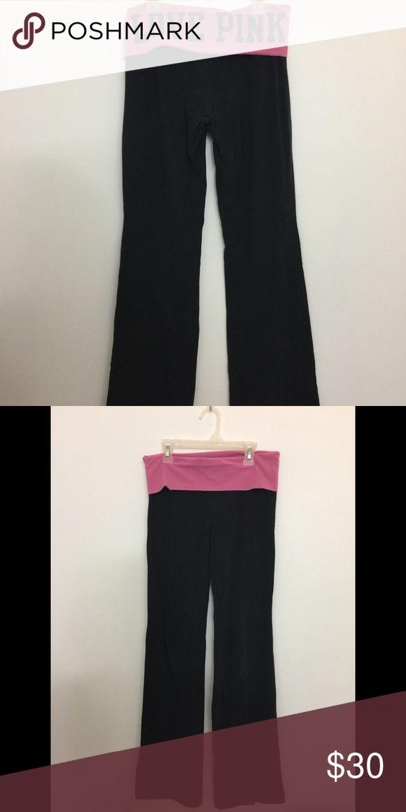 Victoria's Secret, pink, yoga pants leggings Size small in good condition PINK Victoria's Secret Pants Leggings