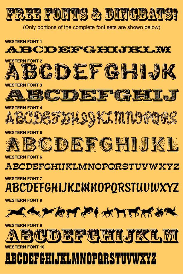 Free Western Fonts http://andynortnik.com/free-western-fonts.htm-SR