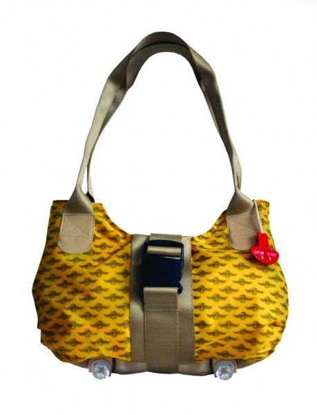 The 'Upgrade' Ladies handag is the perfect bag for a frequent flyer. Made from repurposd life vest material, special highlights of this handbag ar ...