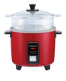 PANASONIC SRW10FGEL Automatic Rice Cooker Steamer  Color BURGUNDY >>> Want additional info? Click on the image. (This is an affiliate link)