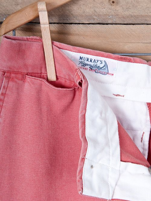 The Original Nantucket Reds Murray's Toggery Shop. Fell in love with this look in junior high....