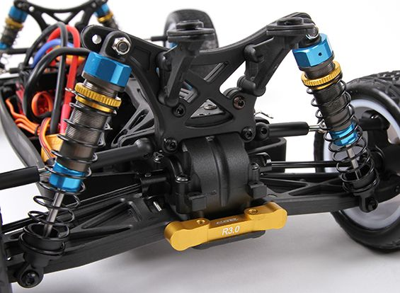 BSR Racing BZ-444 Pro 1/10 4WD Racing Buggy - 17.5T Stock Version (ARR) (AU Warehouse)