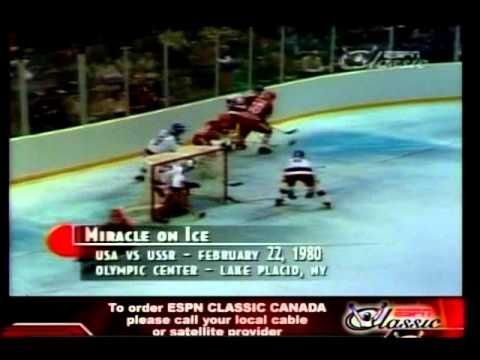 US 1980 Olympic Hockey - Do You Believe In Miracles?  Yes!