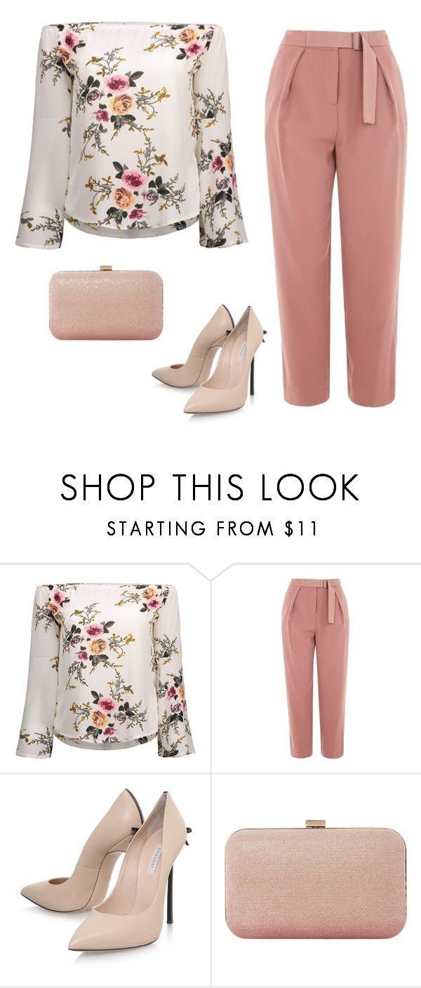 """Spring party"" by monika1555 on Polyvore featuring Topshop, Casadei and Dune"