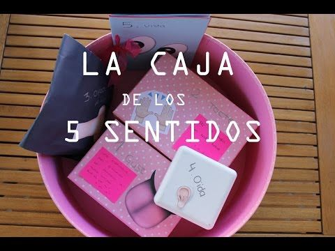 La caja de los 5 sentidos!! Regalo original para una persona especial ♡ ♡ - YouTube