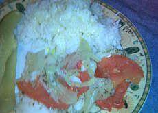 Ryba z bazylią gotowana na parze