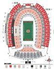 Ticket  4 OSU Ohio State Buckeyes vs Northwestern Wildcats Tickets Ohio Stadium 20B Row8 #deals_us