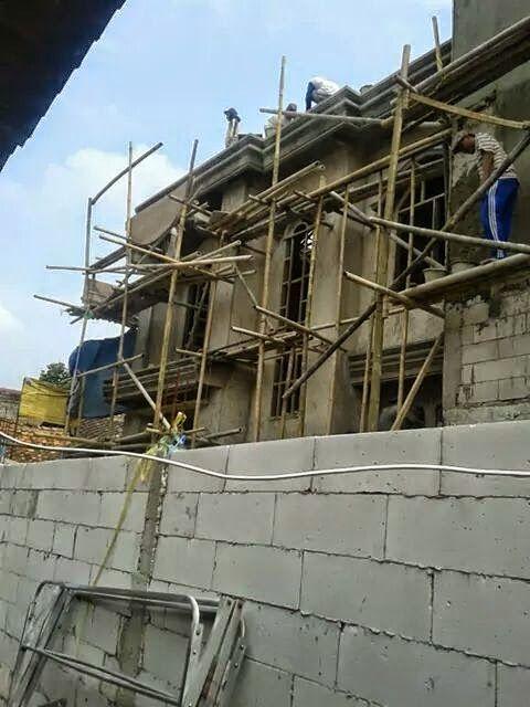 Property n General Contractor: Dijual Rumah Lux On Progress Finishing