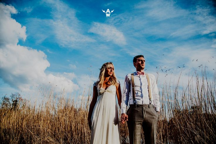 andy wardle (@andywardlephoto) | Twitter Bride and Groom, wedding dress, blue sky, Wedding Photographer