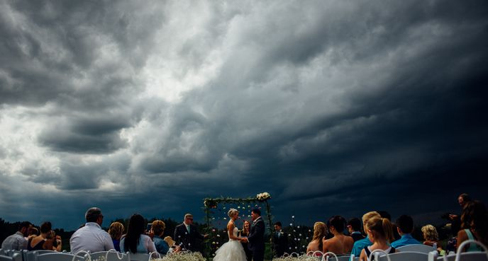 """Stormy wedding,"" Riana Lisbeth, De Winton, Alberta"