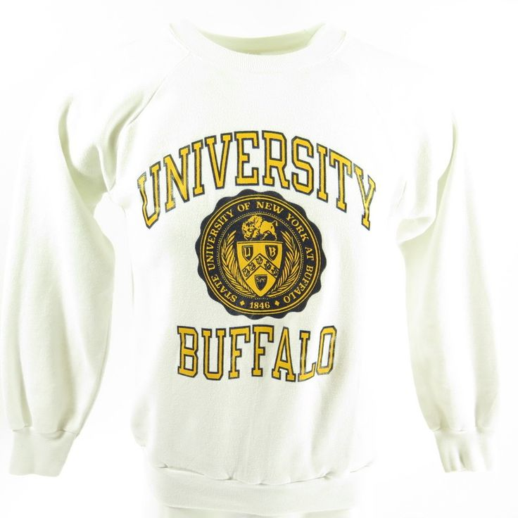 Champion is the name to trust when buying a vintage sweatshirt for your Buffalo University.