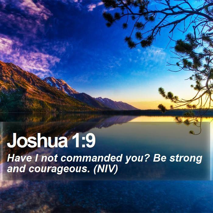 17 Best ideas about Joshua 1 9