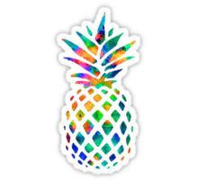 Rainbow Pineapple Sticker                                                                                                                                                     More