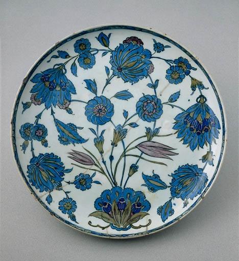plat au bouquet 1555 دوره صفوى