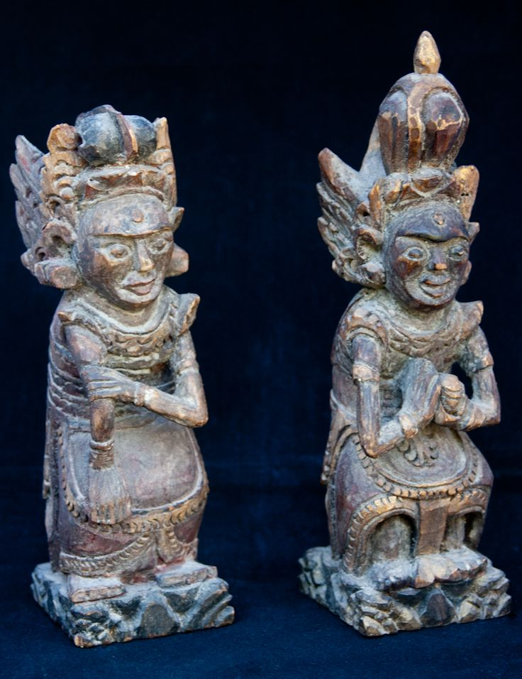 Balinese House Temple Figures