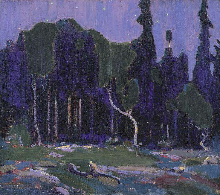 Tom Thomson Catalogue Raisonné | Nocturne, Winter 1915–16 (1915-1916.07) | Catalogue entry