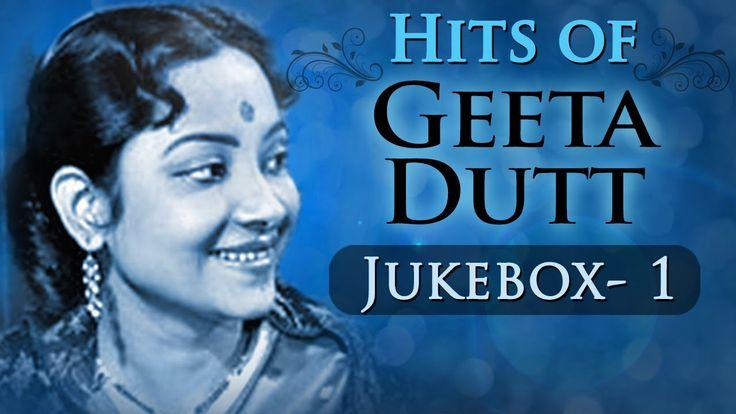 Best of Geeta Dutt Songs (HD) - Jukebox 1 - Evergreen Old Bollywood Song...