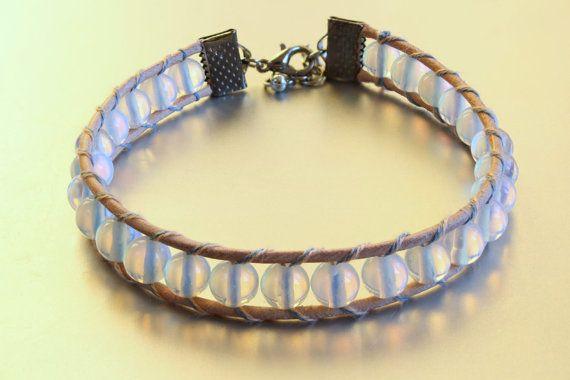 Opal Beaded Wrap Bracelet for Women Beaded by MoniqueUniquely