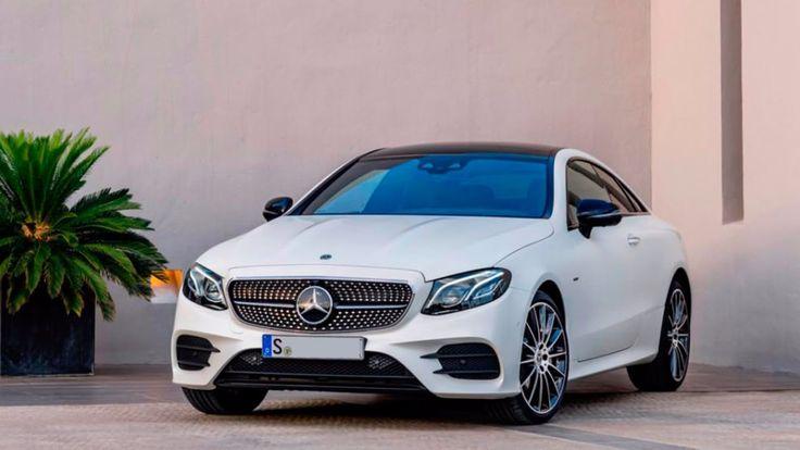 Mercedes E Class Coupe - Интерьер и экстерьер | 2017  Дизайн нового Mercedes E Class Coupe - это больше, чем просто красивый автомобиль. Дизайн стал более выразительным и утонченным.  Бензиновые турбо мотор объемом 2,0 л (184 и 245 л. с.) и 3,0 л (333 л. с.). Также доступен двухлитровый 194-сильный турбодизель.  Время разгона до сотни за 7,3 с. Максимальная скорость 240 км / ч. Расход топлива в комбинированном цикле составляет 4,1-4,7 л/100 км