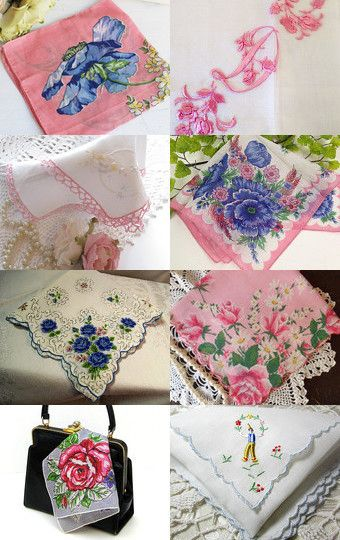 A Lady Always Carries a Clean Hankie by Victoria Woolcott on Etsy--Pinned with TreasuryPin.com
