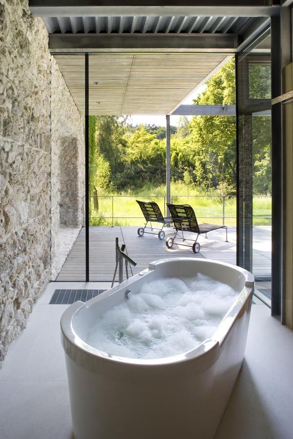 Unbelievable glass home in Krakow. #Duravit products can be ordered at Astro Design Centre #Ottawa
